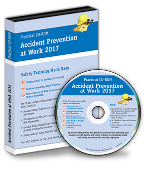 Accident Prevention at Work CD-ROM and Booklet 2017