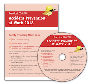 Accident Prevention at Work CD-ROM and Booklet 2018